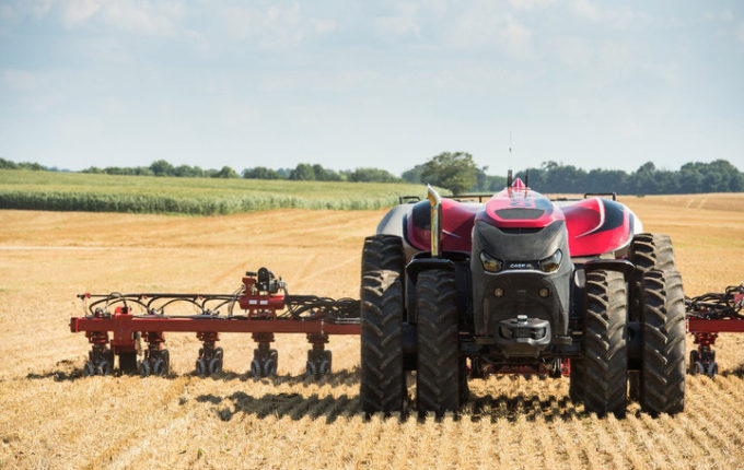 Agriculture Technology Spotlight Self Driving Tractors